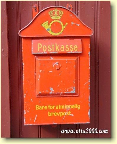 Postkasse til salgs