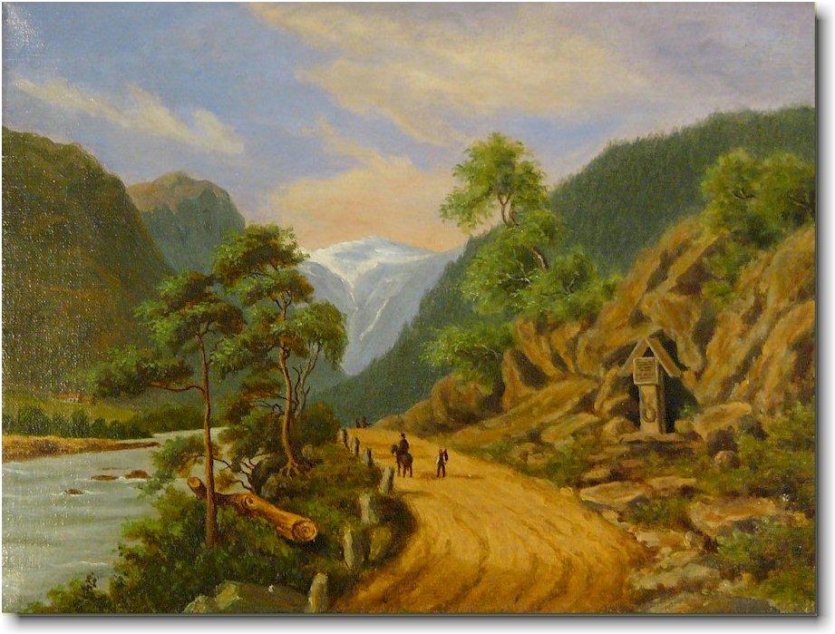 maleri solgt til privat 1900 tallet
