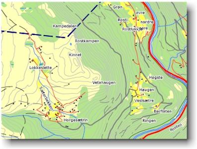 kvam i gudbrandsdalen kart Severdigheter   Sel Historielag kvam i gudbrandsdalen kart