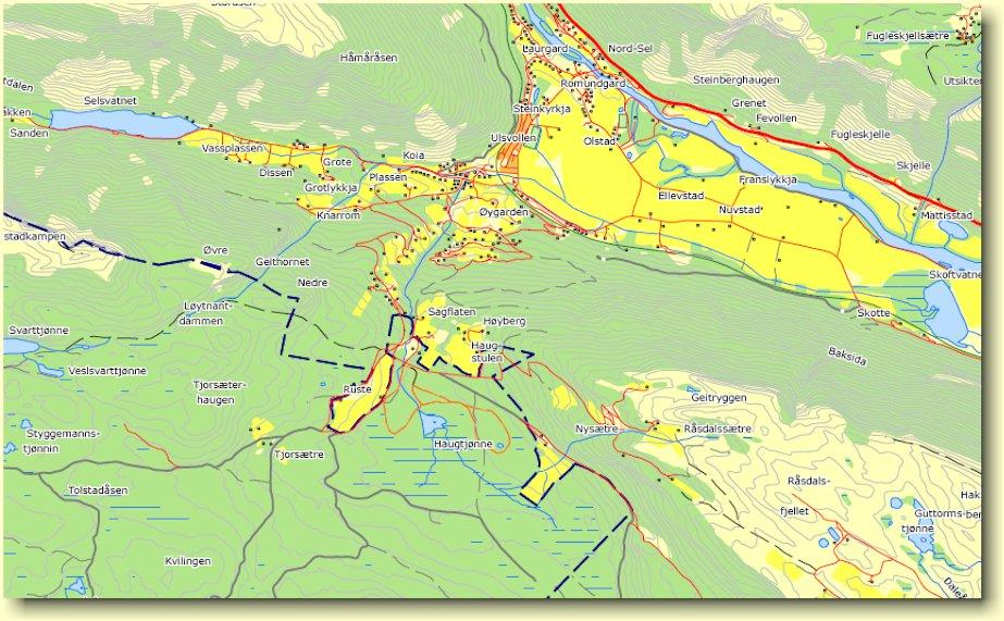 sel kommune kart Sagflaten   en artikkel av Kjell Voldheim. sel kommune kart